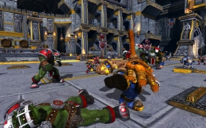 Bloodbowl Screen Shot