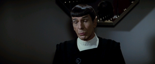 "Spock - the quintessential drunk Vulcan. ""Shorry Jim, thash not locigal"""